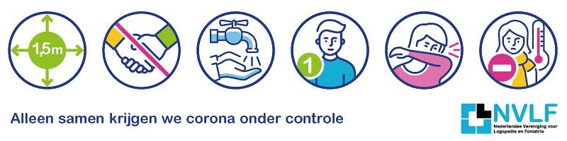 infographic logopedie corona